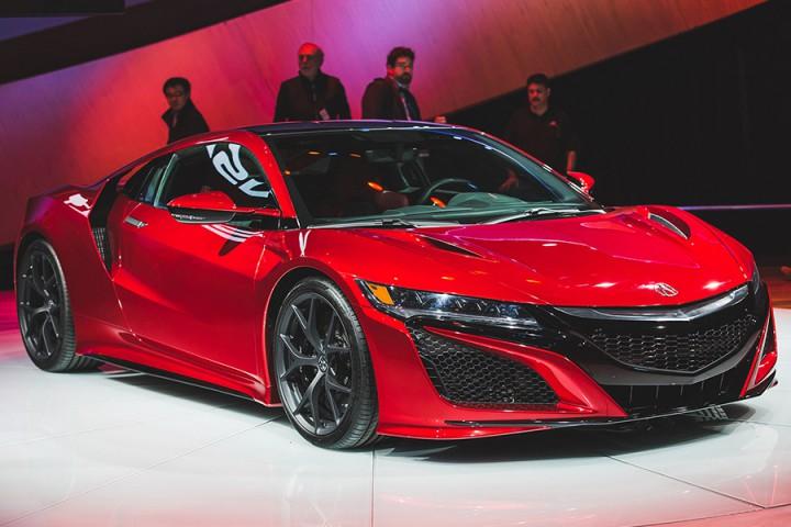 ホンダ、「新型NSX」は2016年発売開始、日本での価格は約2000万円。