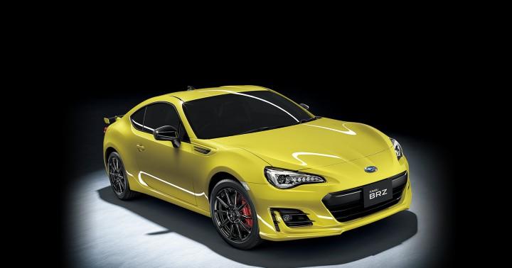 スバル、「BRZ」を大幅改良。馬力アップした最上級グレード「GT」を追加。