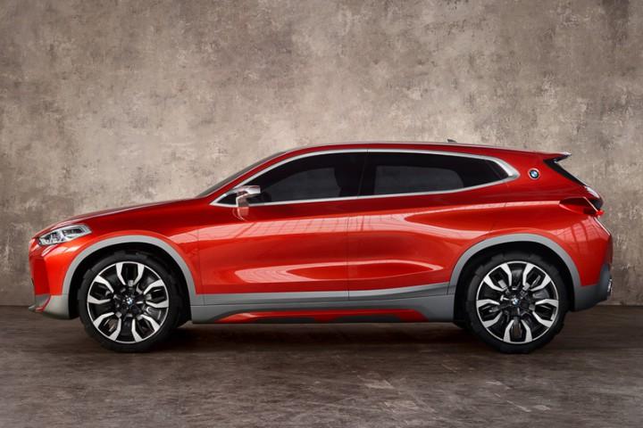 パリモーターショー2016 BMWが新型SUV「Concept X2」を公開。