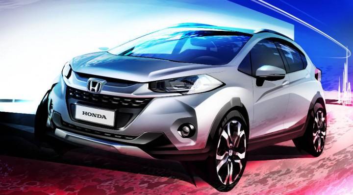 ホンダ、新型の小型SUV「WR-V」が2017年に登場か?サンパウロモーターショーで初公開予定。