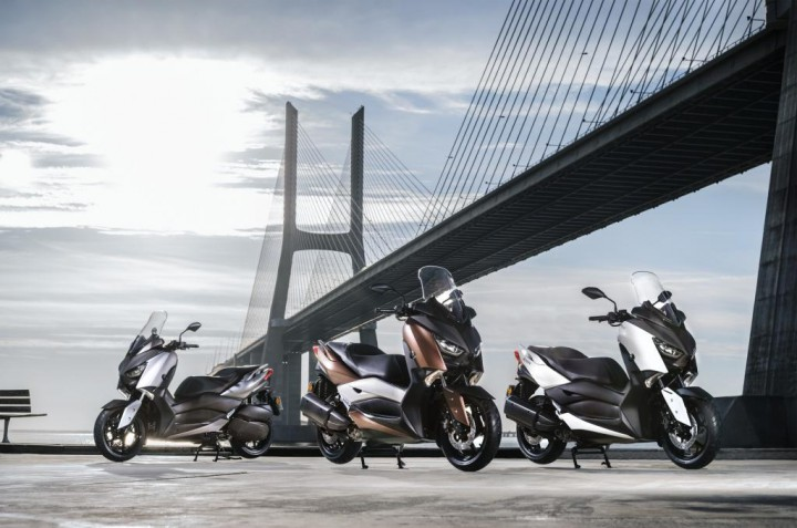ヤマハ、新開発のエンジンを搭載した欧州向けスクーター、新型「XMAX300」を発表。