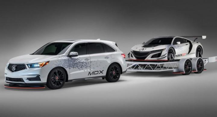 ホンダ、新型「NSX」のGT3レーシングカー「NSX GT3」が2017年シーズンデビュー。