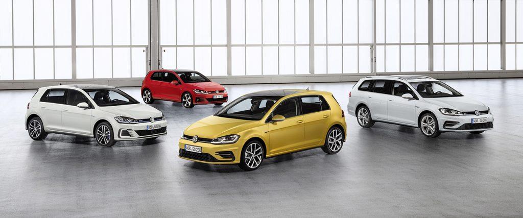 フォルクスワーゲン、現行「ゴルフ」に初めての大幅改良を実施した新型モデルを発表。