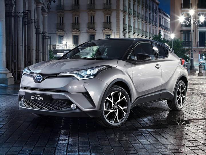 トヨタ、2016年12月に販売開始する新型SUV「CH-R」の市販最終プロトタイプを公開。