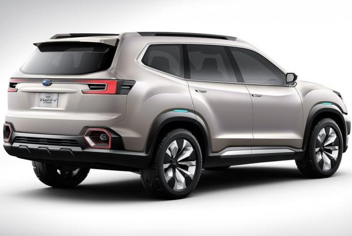 スバル、ロサンゼルスモーターショーでスバル最大サイズのコンセプトSUV「VIZIV-7 SUV Concept」を公開。