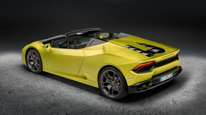 ランボルギーニ、ウラカンの後輪駆動オープンモデル「ウラカンRWDスパイダー」をロサンゼルスモーターショー16で公開。