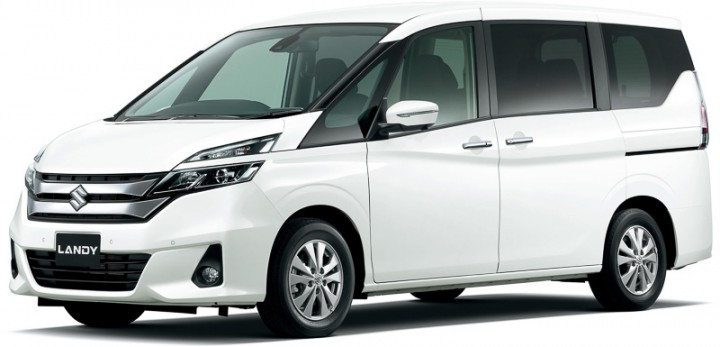 スズキ、ファミリー向けの新型ミニバン「ランディ」を発売。スマートシンプルハイブリッドを搭載し燃費を向上。