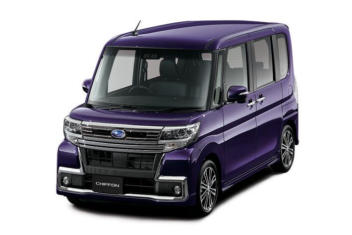 スバル、新型軽自動車「シフォン」を発売。両側パワースライドドアを装備した実用性に注目。
