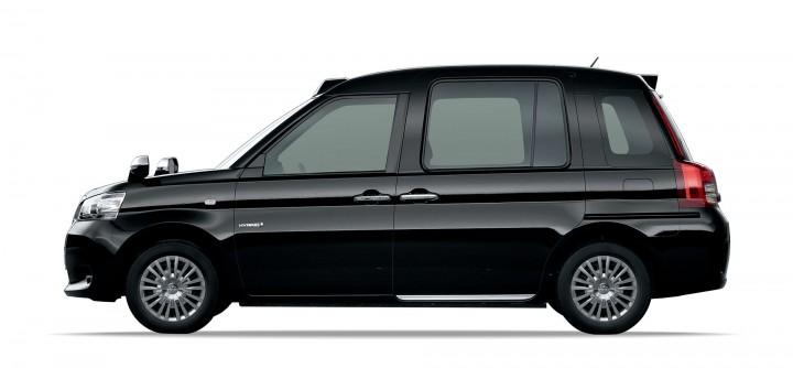 トヨタが開発した「次世代タクシー専用車両」はミニバンスタイル。2020年を見据えた実用性重視の新設計車両。