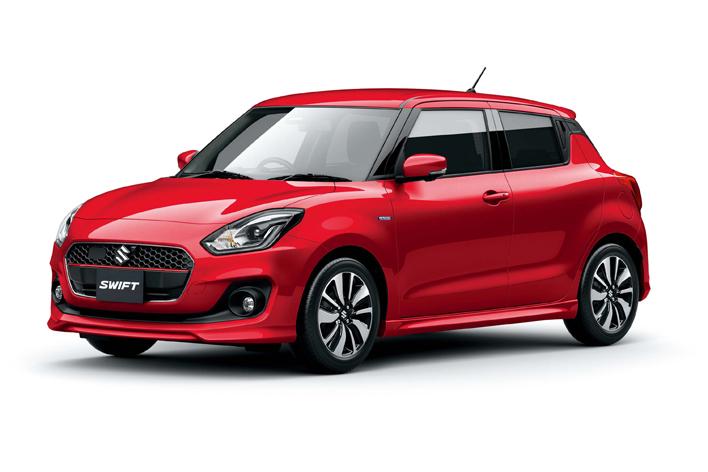 スズキ、モデルチェンジした新型「スイフト」を発表。新型プラットフォームとマイルドハイブリッドを搭載した優れた燃費。